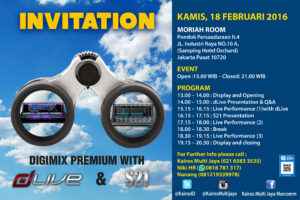 DigiMix Premium with dLIVE & S21