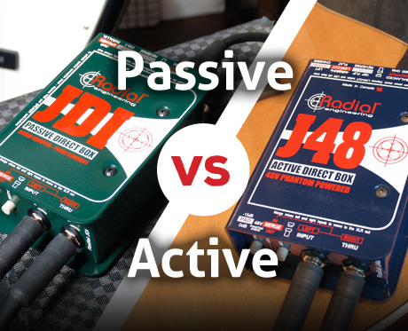 active vs passive DI BOX
