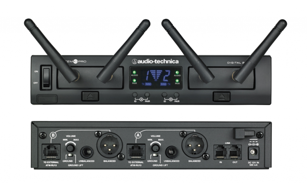 Audio-Technica System 10 PRO display