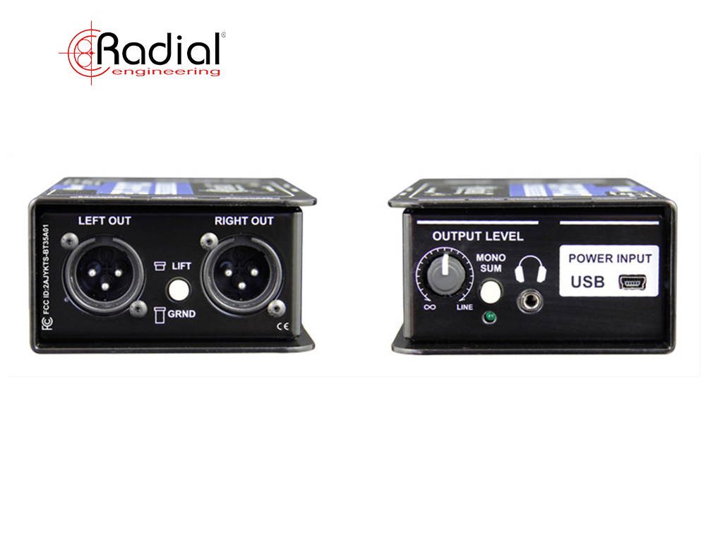 Radial BT-Pro_input output